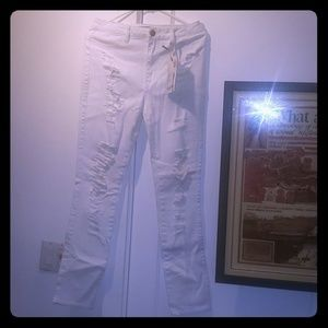 2 for $15 NWOT White High rise Skinny Jeans